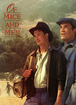 the characters of george and lennie in the novel of mice and men by john steinbeck Of mice and men is john steinbeck's story of two depression-era migrant workers, george and lennie you could fill up a legal-size sheet of paper cataloguing george and lennie's differences, but here's the biggie:.