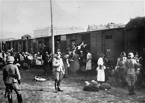 chapters about trains transporting jews to concentration camps 2017-10-16 are the trains seemingly on standby to return us to the past,  concentration camps,  rial to commemorate the deportation of jews.