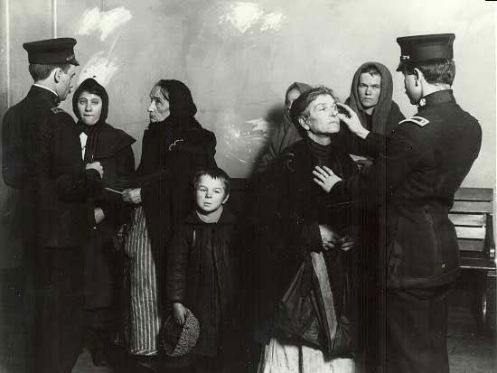 Irish Immigrants To America Ellis Island Medical Examination